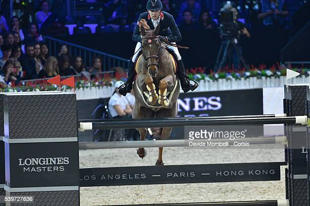 Delestre Simon Hermes Ryan second place at the Longines Grand Prix CSI5* Paris 2015