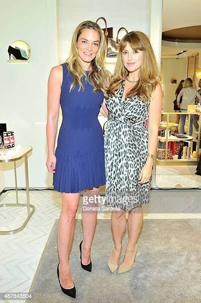 Delete Blood Cancer CoFounder Katharina Harf and Jimmy Choo Director of Entertainment Relations Sara Riff attends an evening to support Delete Blood...