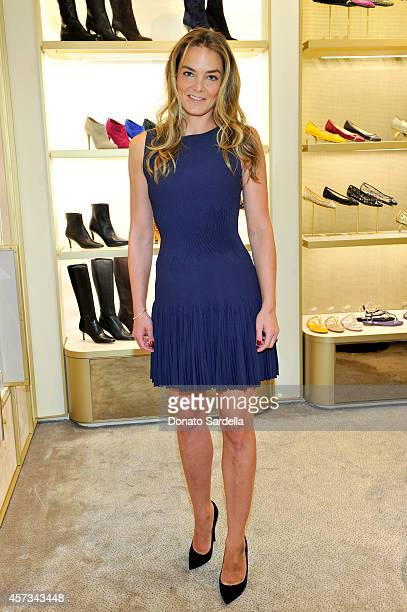 Delete Blood Cancer CoFounder Katharina Harf attends an evening to support Delete Blood Cancer hosted by Jimmy Choo in association with Cindy...