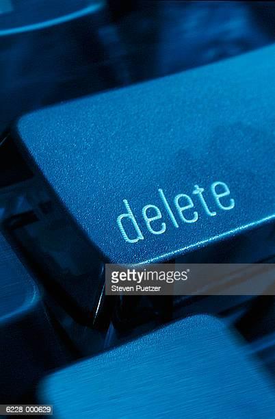 'Delete' computer key