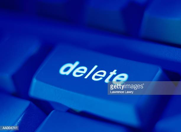 Delete Key on a Computer Keyboard