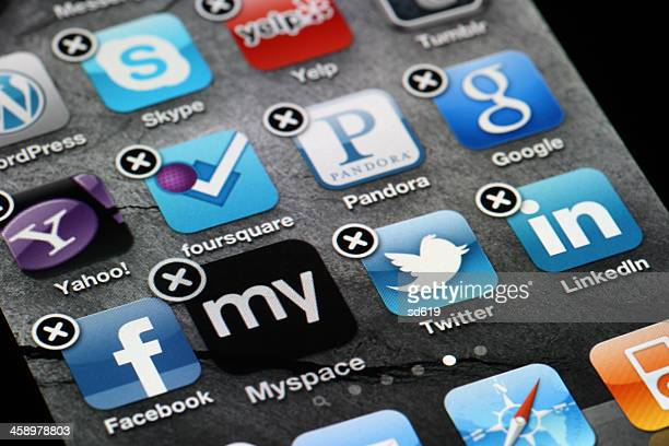 Deleting Myspace App - iPhone 4