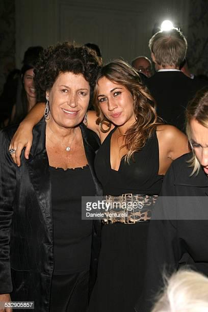 Delfina and Carla Fendi during 1st Annual Rome Film Festival Fendi Party in Rome Italy
