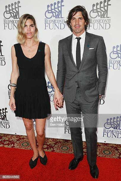 Delfina Blaquier and polo player Nacho Figueras attends the 31th Annual Great Sports Legends Dinner to benefit The Buoniconti Fund to Cure Paralysis...