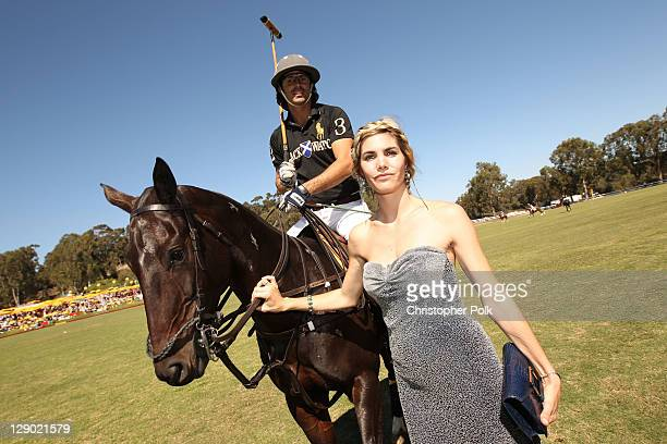Delfina Blaquier attends Veuve Clicquot Polo Classic Los Angeles at Will Rogers State Historic Park on October 9, 2011 in Los Angeles, California.