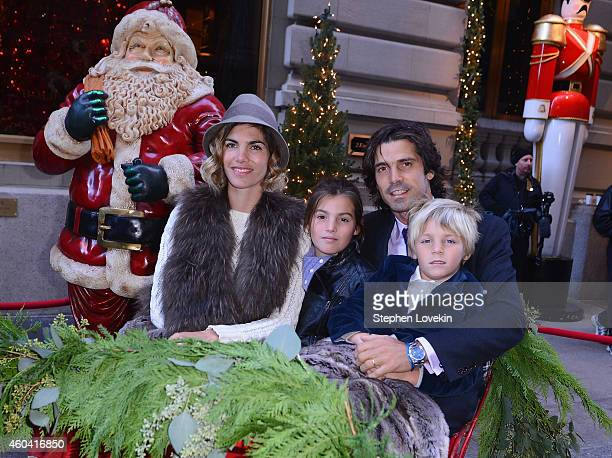 Delfina Blaquier Aurora Figueras Professional Polo player Nacho Figueras and Artemio Figureas attend a special event celebrating the holidays at The...
