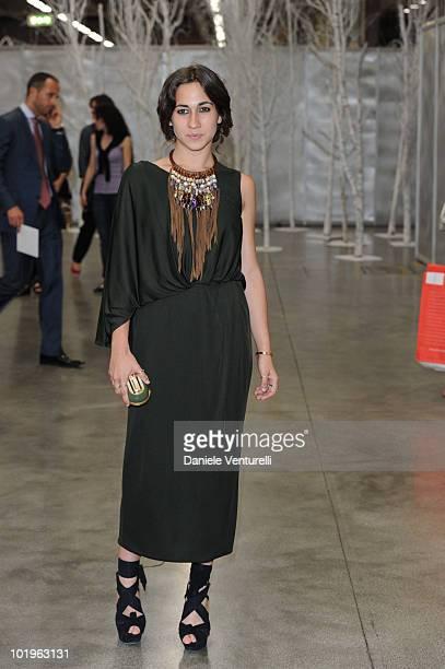 Delfina Delettrez Fendi attends the 2010 Convivio held at Fiera Milano City on June 10 2010 in Milan Italy