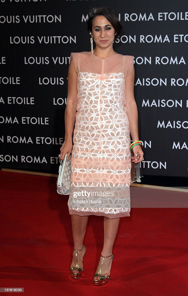 Delfina Delettrez Fendi attends the 'Maison Louis Vuitton Roma Etoile' Opening Party at Ex Istituto Geologico on January 27, 2012 in Rome, Italy.