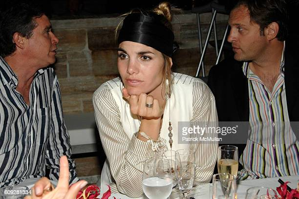 Delfina Figueras attends GUCCI Cristina Chris Cuomo and Stephanie and David Wolkoff's Midsummer Night's Dinner at The Ross School on July 21 2007 in...