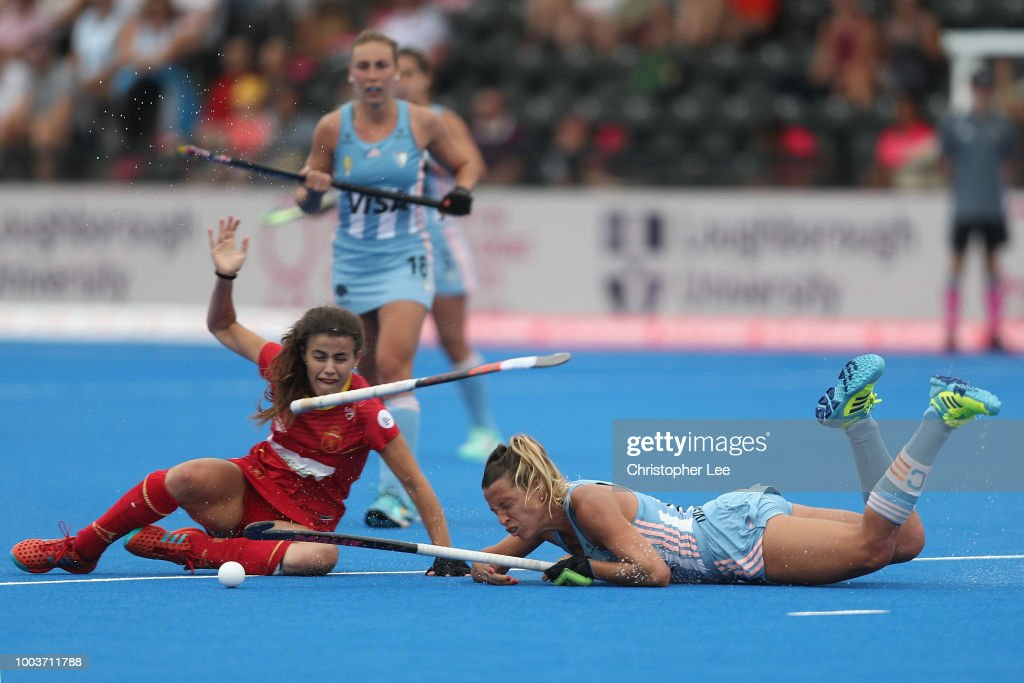 Argentina v Spain - FIH Womens Hockey World Cup