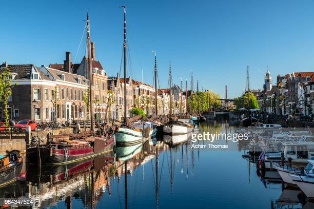 delfshaven, rotterdam, netherlands, europe - netherlands stock pictures, royalty-free photos & images