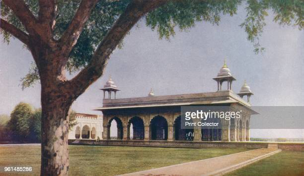 Delhi. By the eastern wall of the Palace is the Diwan-I-Khas or Hall of Private Audience, measuring 90 feet by 67 feet. It is built of white marble...