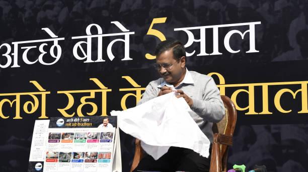 IND: Delhi Chief Minister Arvind Kejriwal Launches Kejriwal Ka Guarantee Card