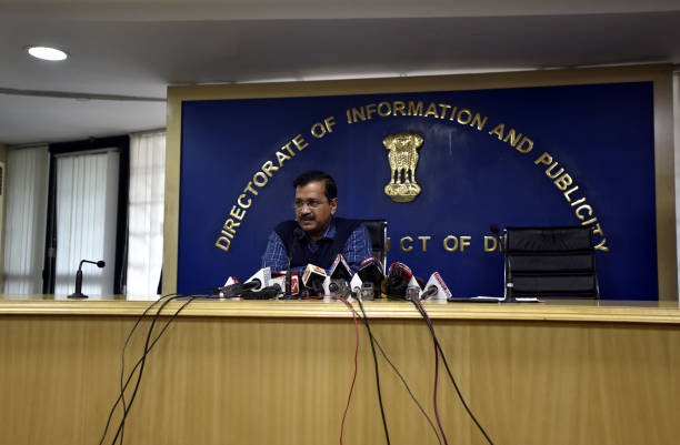 IND: Press Conference Of Delhi Chief Minister Arvind Kejriwal Regarding BIS Report On Poor Quality Of Water Supplied By DJB