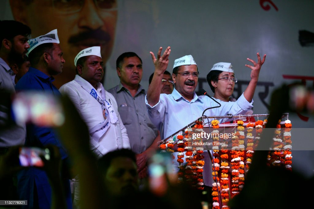 IND: Delhi Chief Minister Arvind Kejriwal Address Lok Sabha Campaign Rally In Trilokpuri