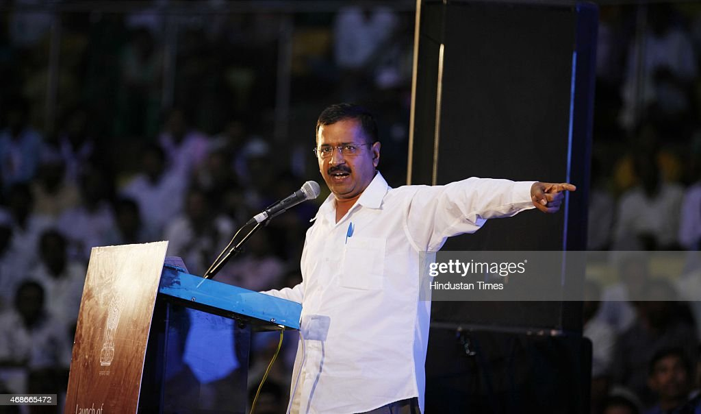 Delhi Chief Minister Arvind Kejriwal Re-Launches Anti-Corruption Helpline 1031