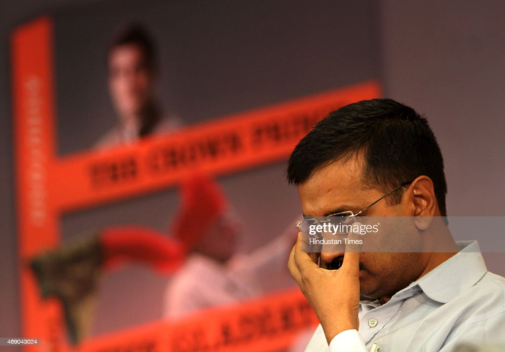 Arvind Kejriwal At Launch Of Ashutosh's Book: The Crown Prince, The Gladiator And The Hope