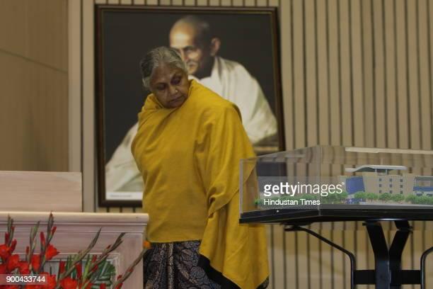 Delhi CM Sheila Dikshit during the Pravasi Bharatiya Divas at Vigyan Bhawan in New Delhi