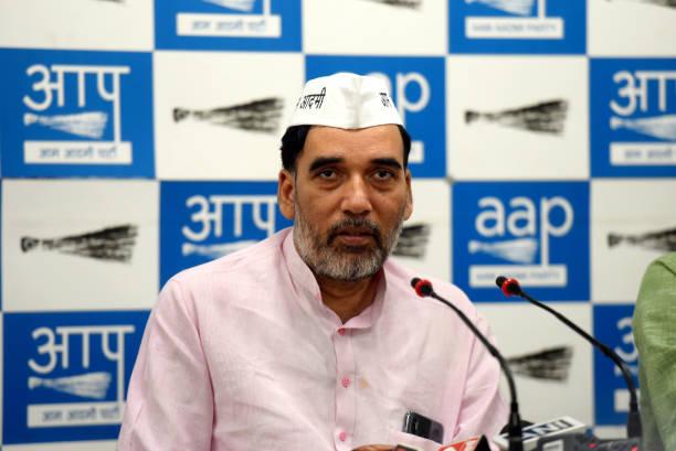 IND: Press Conference Of AAP Delhi Convener Gopal Rai