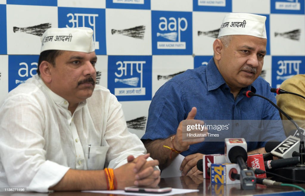 IND: Press Conference Of Delhi Deputy Chief Minister Manish Sisodia