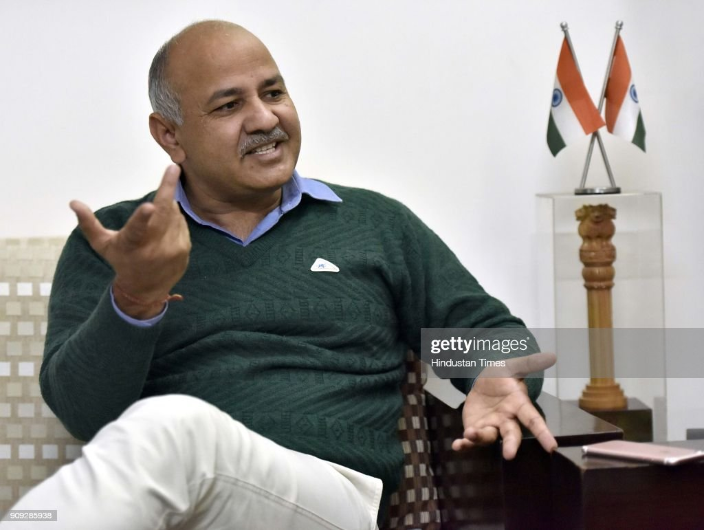 Interview Of Delhi Deputy Chief Minister Manish Sisodia