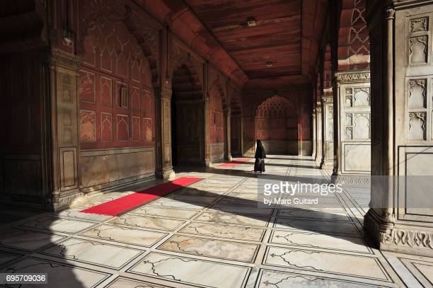 , delhi, india - jama masjid delhi stock pictures, royalty-free photos & images