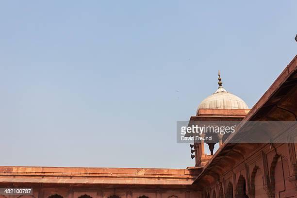 Delhi Mosque Corner Detail