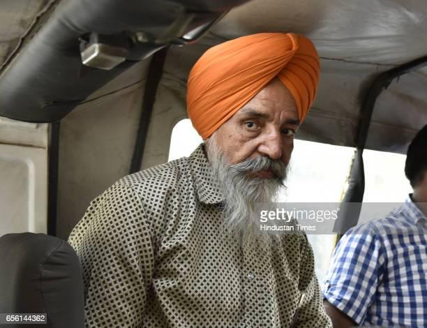 Delhi Police arrest Khalistan Commando Force militant Gursewak Singh at Babla on March 21 2017 in New Delhi India A 51yearold alleged member of...