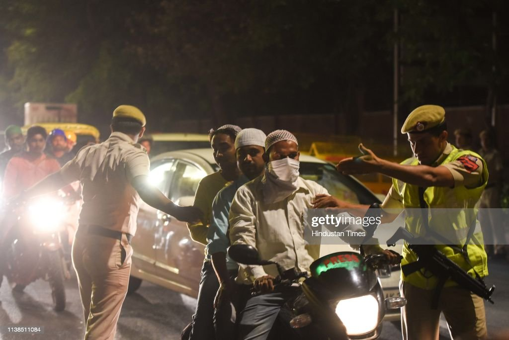 IND: Delhi Traffic Police Act Against For Violating Traffic Rules During Shab-e-Barat