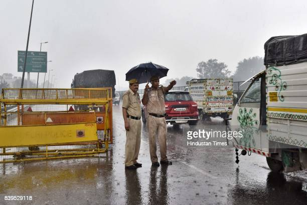 Delhi Police on high alert in Delhi-NCR a day after 31 people died and over 250 were injured in rioting triggered by the conviction of Dera Sacha...