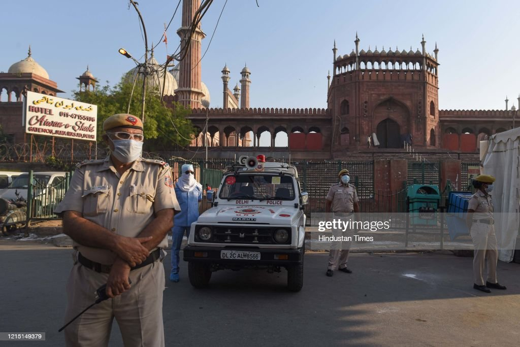 Subdued Eid al-Fitr In India Amid Coronavirus Crisis : News Photo