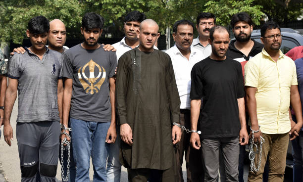 IND: Delhi Police Special Cell Arrest Five Members Of International Drugs Syndicate