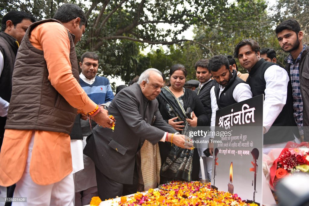 IND: DPCC Leaders Pay Floral Tribute To The CRPF Personnel Killed In The Pulwama Terror Attack
