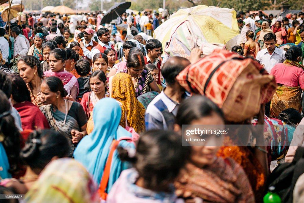 Delhi, cena de rua : Foto de stock