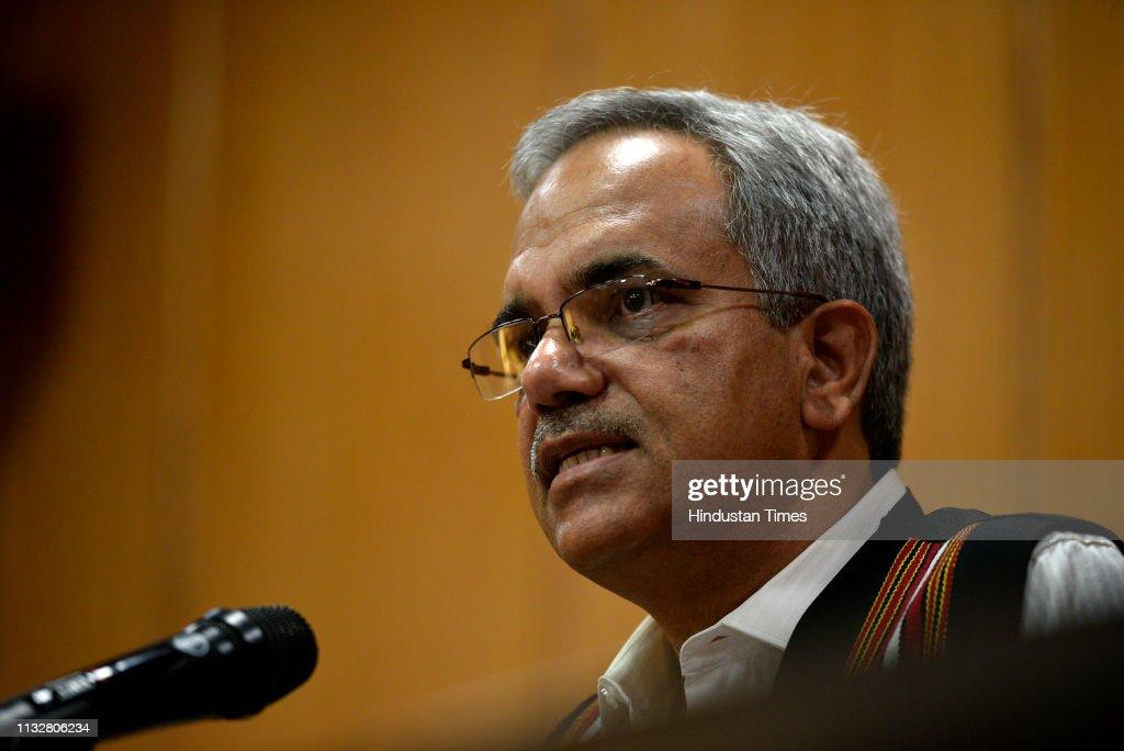 IND: Press Conference Of Delhi Chief Electoral Officer Ranbir Singh