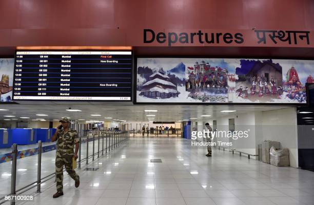 Delhi's Indira Gandhi International Airport Terminal 2 is ready for operation first flight departures of Go Air flights will begin from October 29th...