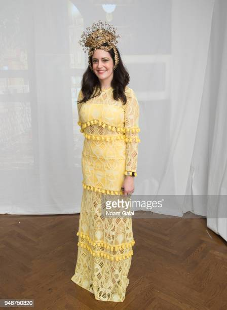 Deli Ball Chair Vaughn Massey attends the Dali Ball at The National Arts Club on April 13 2018 in New York City
