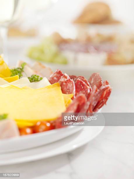 Deli Meat and Cheese Party Platter