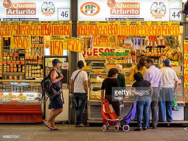 Deli-Marktstand im the Market, Santiago de Chile