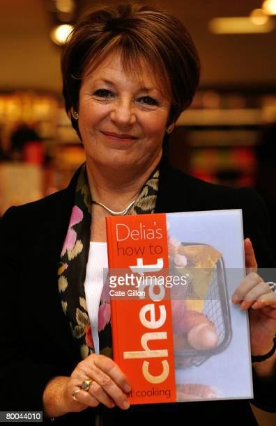 Delia Smith attends a signing of her new book 'How to Cheat' on February 28, 2008 in London, England. The succesful chef has been criticised for some...