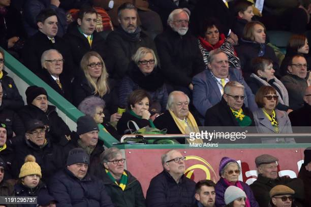 Delia Smith Norwich City joint majority shareholder alongside her husband Michael Wynn Jones during the Premier League match between Norwich City and...
