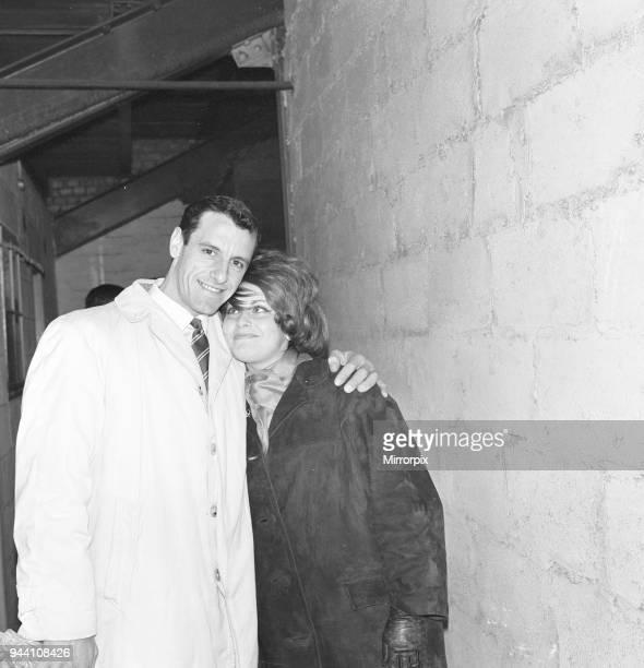 Delia Zussman, daughter of Harry Zussman, Chairman Leyton Orient Football Club, pictured at Brisbane Road, Saturday 14th April 1962.