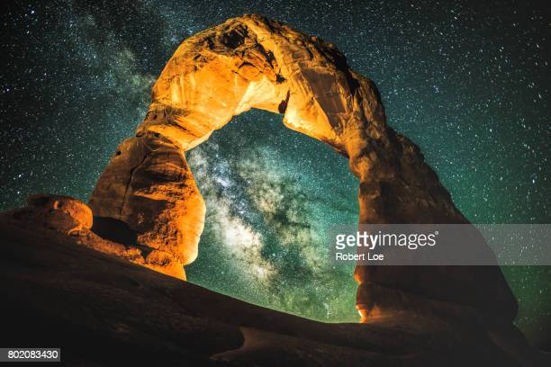 Delicate Arch and the Milky Way Galaxy