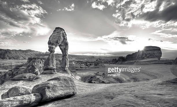 delicate arch, arches national park - delicate arch stock pictures, royalty-free photos & images