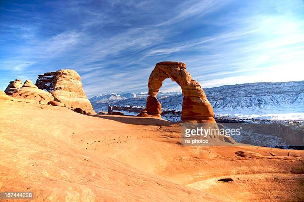 delicate arch, utah - delicate arch stock pictures, royalty-free photos & images