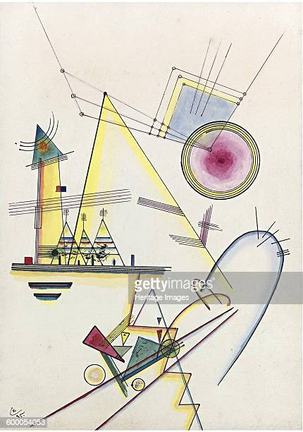 Delicate soul 1925 Private Collection Artist Kandinsky Wassily Vasilyevich