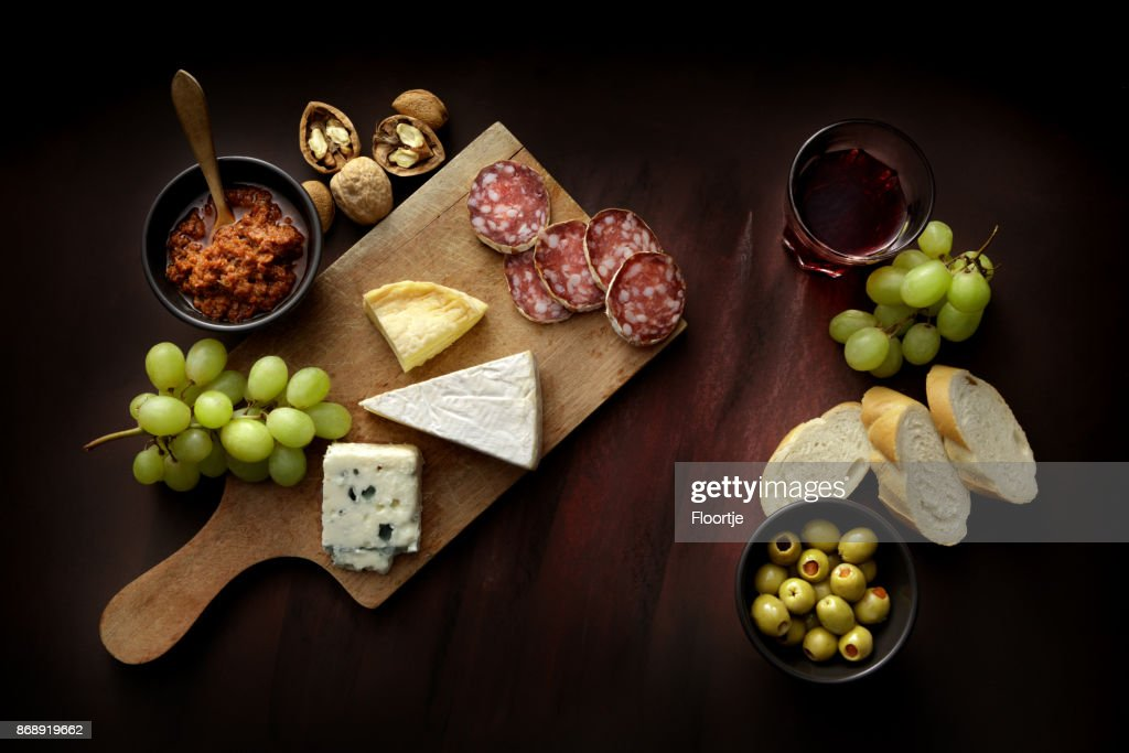 Delicatessen: Delicatessen Variety Still Life : Stock Photo