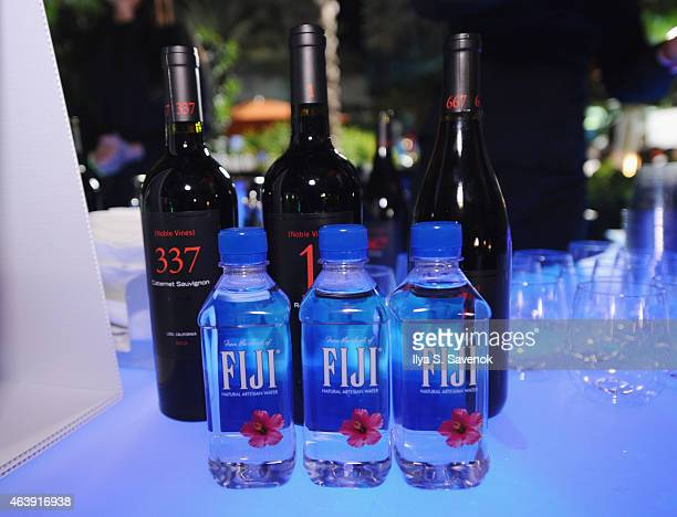 Delicato Family Vineyards Noble Vines and FIJI Water on display at CASAMIGOS Tequila presents Tacos After Dark hosted by Aaron Sanchez during the...
