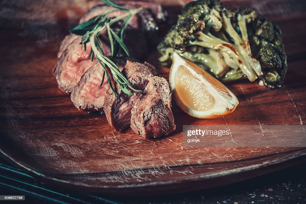 Delicious appetizer with herbs : Stock Photo