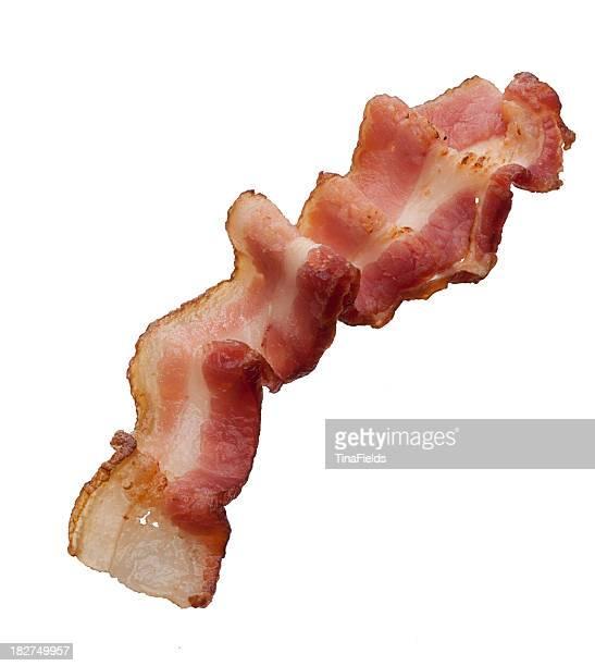 Delicious bacon slice